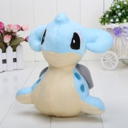 Wholesale 15CM retail Lapras toy Soft Plush Doll stuffed animal children gift Lapras