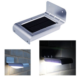 16 LED Solar Power Motion Sensor Security Lamp Outdoor Waterproof Light Motion Detection Home Garden Lamps