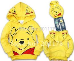 Wholesale Le sweater191 de gros promotion régulière mignonne roupas infantil minnie mouse vêtements gratuits expédition nouveau arrivel ours kid