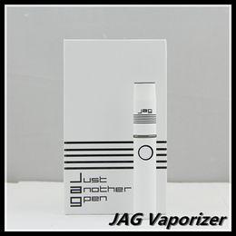 Wholesale China Jag Vaporizer Kit for Wax Dry Herb Micro Pen Vape G Card Waxy Oil mAH Flat Shape Ecig White Color
