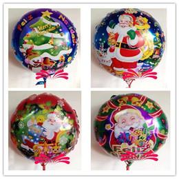 2014 Christmas balloon helium balloons Christmas party balloon decoration supplies