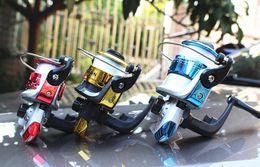 HOT 200 Series Mini Fishing Reels Spinning Reels Free line L R Hand Exchange 5.2:1 Mini Reels High strength plastic material High quality!