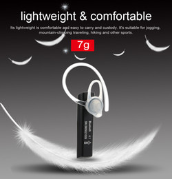 Wholesale New K10 Wireless Bluetooth Headset BT4 Stereo In ear Earphone Deep Bass Multi point Hands free with Mic Voice Prompt in Battery V1866