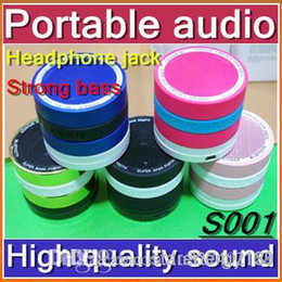 Wholesale DHL Mini Super Bass Bluetooth Portable Video Speaker Wireless Music Hi Fi Player Stereo Speakers For iPhone5 S C S4 Note3 iPads JL00