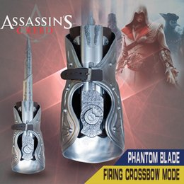 Wholesale Assasins Creed hidden blade Cosplay Brotherhood Ezio Gauntlet in stock High quality assassins creed costume kids toys