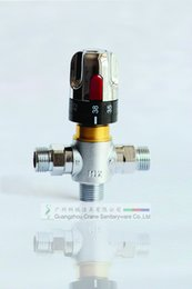 Wholesale Thermostatic laboratory Mixer thermostatic valve water temperature controller