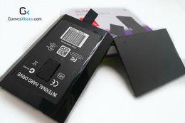 Xbox duro en venta-Caso de 20pcs / lot HDD para Xbox 360 Slim / Xbox360 / Microsoft Caja de la impulsión dura del funcionario 20GB / 120GB / 320GB / 500GB Envío libre hdd pata