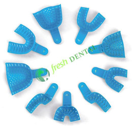 Dental 5Sets Dental impression tray with Small Holes PP plastic construction Dental consumables YT-01
