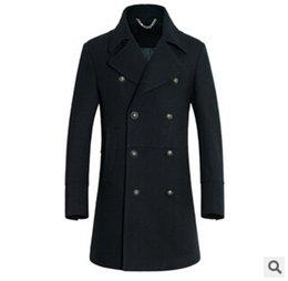 Wholesale Fall new winter men s imported Australian wool coat in the men s long wool business