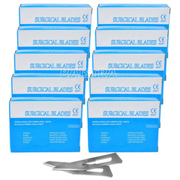 10 Boxes Dental Surgical Scalpel Blades Stainless Steel 11# for Instruments
