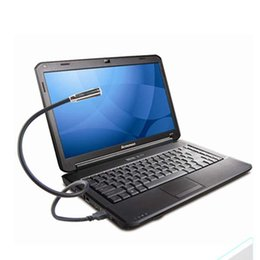 Wholesale Deal Black Flexible USB LED Reading Light Lamp Flashlight for Laptop Computer Keybord