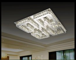 New Arrival D750MM Clear crystal LED ceiling light Living room Bedroom LED Ceiling Lamps Free Shipping 100% Guaranteed Remote Control