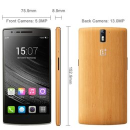 Wholesale Original Oneplus one plus JBL Bamboo GB G LTE Cell Phones quot FHD x1080 FDD Snapdragon GHz G RAM G ROM Android FREE DHL