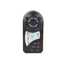 Wholesale PINZE Q8 Wireless wifi miniature cameras P HD mini dv remote monitoring ultra small invisible Web camera