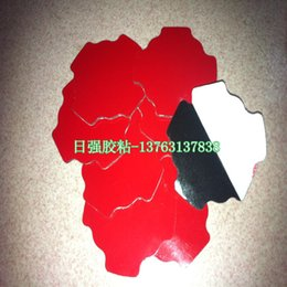 3M4215 double-sided adhesive red film 0.4MM thick black acrylic double-sided adhesive