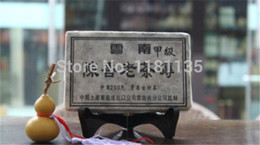 Wholesale 250g Years Yunnan old ripe Puer Tea Nature Fragrance Puer Brick Puerh Promotion Ansestor Antique Honey Sweet Ancient Tree order lt no tra