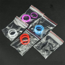 Silicone O Ring Colorful Silicon Seal O-ring Replacement Orings Set For Kangertech Sub Tank Plus Mini Subtank Nano Clearomizer Atonizers