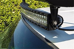 300W 53inch CREE 30LED*(10W) Work Light Bar Spot Flood Beam Curved LED Light Bar Driving Off-Road SUV 4WD 4x4