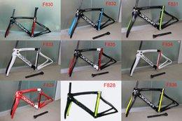 Wholesale 2016 newest carbon road frame carbon road bike frame full carbon fiber bicycle frame T1000 K carbon fibre frameset glossy matte surface