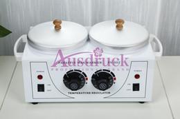 Wholesale NEW design Wax Warmer double Heater Paraffin Skin Care Spa Machine