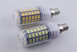 Wholesale High brightness V V W LED SMD con bulb lamp LED bulb lamp leds Warm white white E27 Corn Light