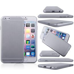 Cas transparents pour iphone 4s en Ligne-Transparente en TPU gel Cristal Clair de 0,5 mm Ultra-mince souples en silicone à l'Arrière de l'étui Cover pour iPhone 4 4S 5 5S 5C iphone 6 samsung galaxy S5 i9500