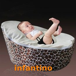 Wholesale HOTSELL Baby Bean Bag GIRAFFE CREAM SEAT With CE Certificate
