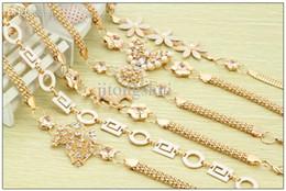 Métal rodage à vendre-Gros-2015 crochets mode mignon perles sauvages ceinture chaîne incrustée de strass ceinture abdominale chaîne en or fleur papillon ceinture Femmes de ceinture en métal