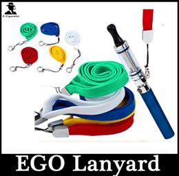 Lanyard Collier Chaîne Chaîne de cou pour la série Ego ego-ego-c ego-w Cigarette électronique E-Cigarette E Cig Hot Selling à partir de longes pour cig fabricateur