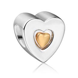 Livraison gratuite Argent 925 Joyeux anniversaire avec 14K Perles charme européen flottant pour Charms Bracelet bricolage à partir de charme joyeux anniversaire fabricateur