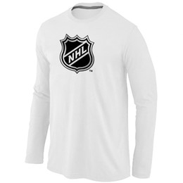 Wholesale Hockey T Shirt NHL Big amp amp Tall Logo Long Sleeve men T Shirt mix order Stretch cotton