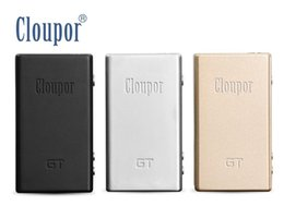 Wholesale 100 Cloupor GT TC w Box mod Temperature Control Billet aluminium baby cloupor mini Upgrade version vs Sigelei w IPV3 iStick w