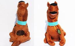 Свободный материал собаки для продажи-Торговец Scooby Doo собаки куклы 13inch мягкий плюш мягкая игрушка новая детская Подарок бесплатная доставка