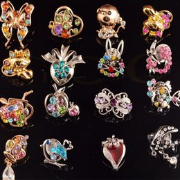 Top Quality Shiny Vintage Corsage Pin Badge Fashion Rhinestone Crystal Brooch For Wedding Christmas Party Supplies
