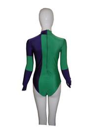 Caitlin Fairchild Spandex Superhero Costume Cosplay Halloween Lycra Spandex Zentai Suit