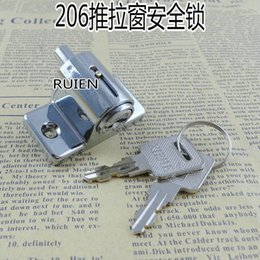 Wholesale Steel doors and window locks sliding window lock door lock anti theft door window aluminum pan child safety locks
