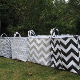 Wholesale Blanks Square Storage Bin Laundry Basket Gift Container Kitchen Storage Waterproof Nursery Storage DOM106082