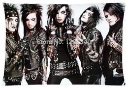 Cool Pillowcase Black Veil Brides American Rock Band Style Pillow Case (Twin Sides)(20x30 Inch)