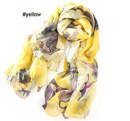 Descuento el envío más barato mujeres más baratos scaves bufandas bufanda infinito Malus spectabilis pashmina 5color eligió el envío libre de EMS 60002