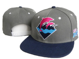 Wholesale snapback caps for men caps Pink Dolphin Snapbacks Hats bone gorras baseball hockey panel running man cap Adjustable Snap backs Cheap price