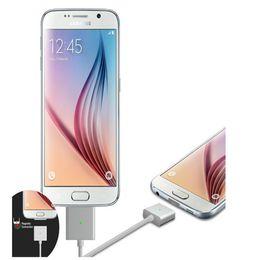Descuento cargos cables iphone Cable magnético del metal para el teléfono androide androide 2.4A Smartphone androide Cable de carga con el paquete al por menor China al por mayor
