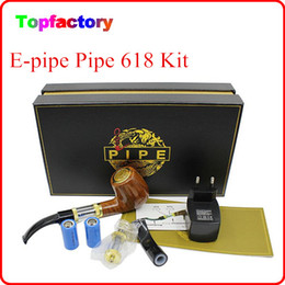 Wholesale E pipe Health Smoking Pipe Electronic Cigarette With Best Package old fashioned style electronic smoking pipe starter kit Free DHL