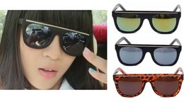 2015 Fashion vintage big black fashion sunglasses fashion square UV400 women & men oculos ciclismo sun glasses myopia YJ091