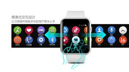 Wholesale Korean Fast Ship - DHL Fast Shipping Bluetooth Smart Watch IWO 1:1 Use MTK2502C For Ios And Android Phone Better Than A9