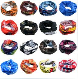 Wholesale-Unisex Skull Neck Warmer Sport Scarf Multi Purpose Head Face Mask Snood Bandana