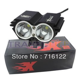 SolarStorm X2 Bike Light 2 CREE U2 LED 2000LM Waterproof Bicycle Light + Intelligent Power Indicate,with retail box!