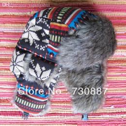 Descuento sombreros trampero Venta al por mayor-Nuevo llega el sombrero libre Yoko-054 del trampero de la Navidad del sombrero del invierno de la manera del sombrero del invierno del día de fiesta del envío 2015