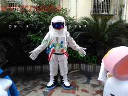 Hot Sale ! High Quality Space suit mascot costume Astronaut mascot costume with Backpack with LOGO glove,shoesFree Shipping