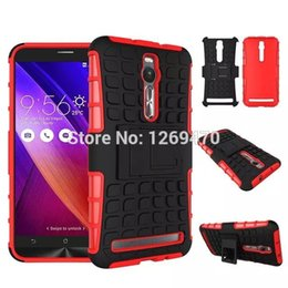 Wholesale For Asus Zenfone2 ZE551ML ZE550ML High quality anti knock silicone cover PC TPU cases for Asus Zenfone inch