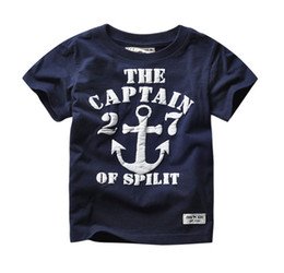 2017 Kids Boys Number Letter Printed T-Shirts Baby Boys Short Sleeve Gray Red Tees Kids Girls 100% Cotton Tops Children's Clothing CS05